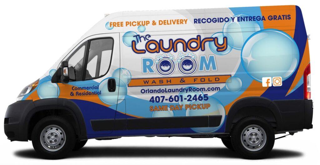 Laundry delivery service Orlando FL
